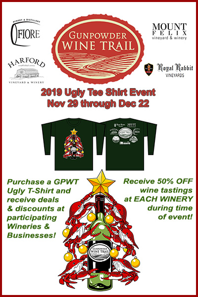2019 GPWT Ugly T-Shirt Event Nov 29 thru Dec 22